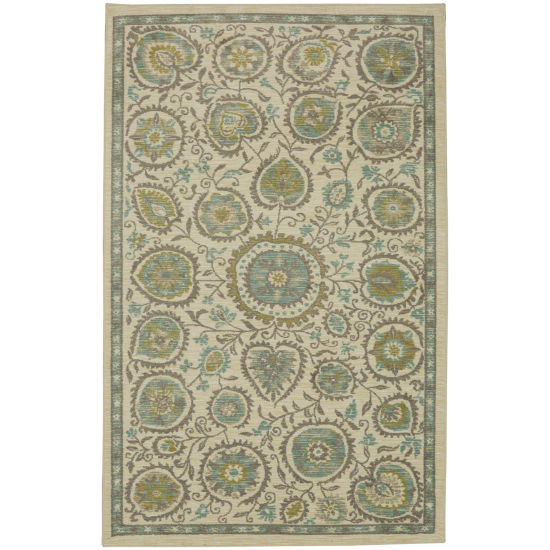 Mohawk Home Aurora Evensong Cool Rectangular Rugs
