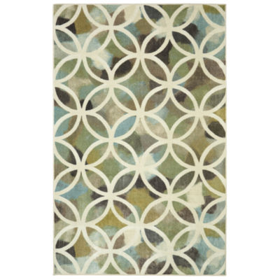 Mohawk Home Aurora Random Symmentry Rectangular Indoor Rugs