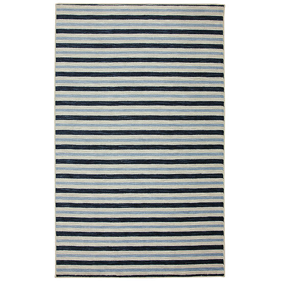 Mohawk Home Aurora Monterey Stripe Rectangular Indoor Rugs