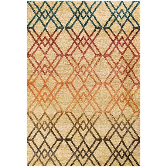 Kas Barcelona Moderne Rectangular Indoor Rugs