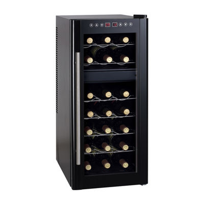SPT WC-2192DH: Dual-Zone Thermo-Electric Wine Cooler with Heating 21-bottles