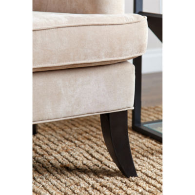 Devon & Claire Arlene Fabric Nailhead Trim Armchair