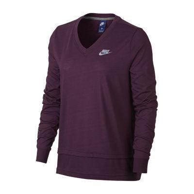 Nike Long Sleeve Metallic Just Do It Graphic T-Shirt