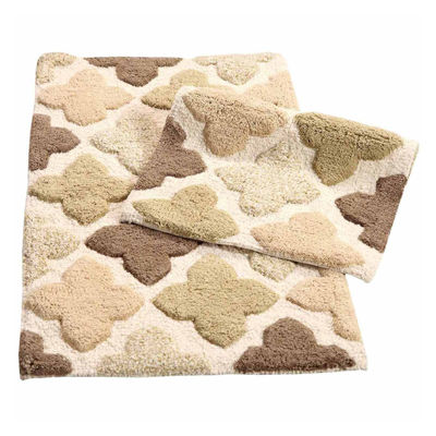 Alloy Moroccan Tiles 2 Piece Bath Rug Set