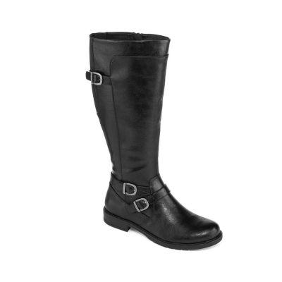 Yuu Womens Camron Wide Calf Riding Boots