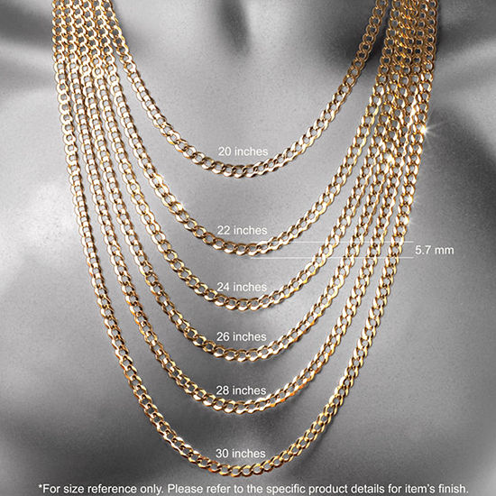 """14K Yellow Gold 18"""" 1.35mm Hollow Rope Chain Necklace"""