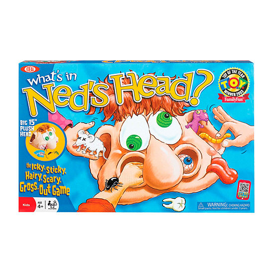 Ideal What'S In Ned'S Head 40-pc. Table Game