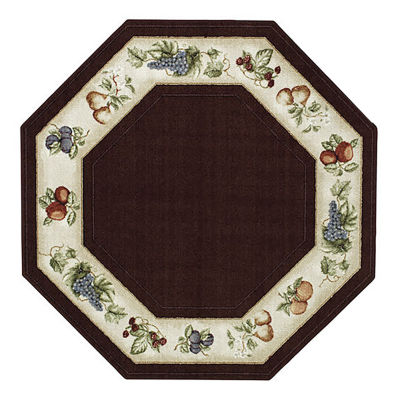 Fresh Fruit Washable Octagonal Rug Jcpenney