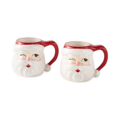 North Pole Trading Co. 2-pc. Coffee Mug