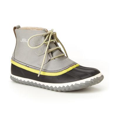 J Sport By Jambu Womens Nala Rain Boots Water Resistant Flat Heel Lace-up