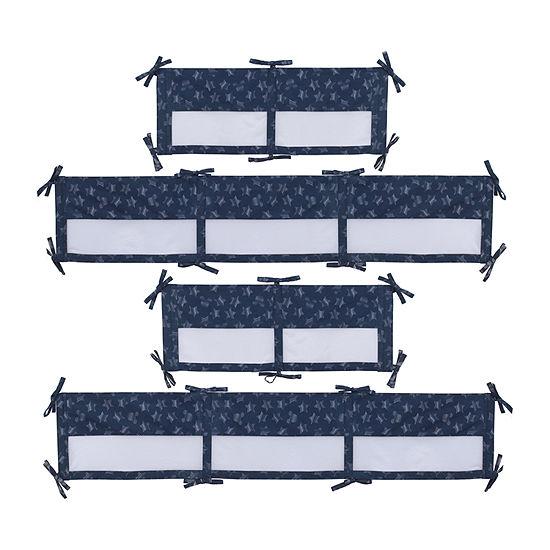 Disney Mickey Hello World Crib Liner Knit Crib Liner