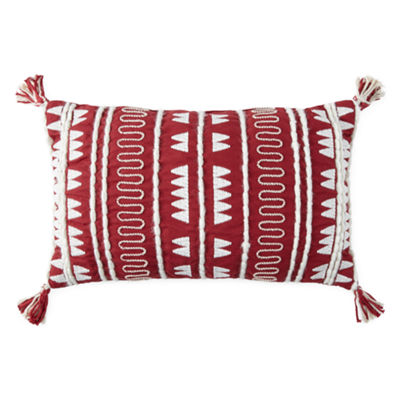 Peyton & Parker Tribal Embroidered Decorative Pillow