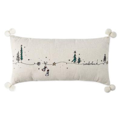 Peyton & Parker Wonderland Rectangular Throw Pillow