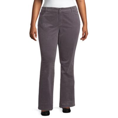 St. John's Bay Bootcut Cord Pant - Plus
