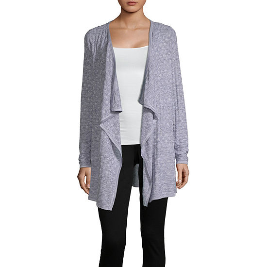 Alyx Womens Long Sleeve Open Front Cardigan