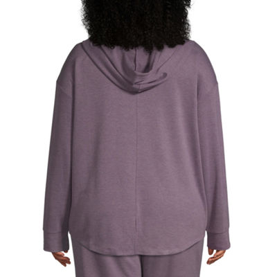 St. John's Bay Active Split Back Hoodie - Plus