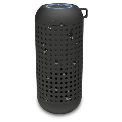 iLive Platinum ISBWV418B Voice-Activated Waterproof Wireless Rubber Bluetooth Smart Speaker
