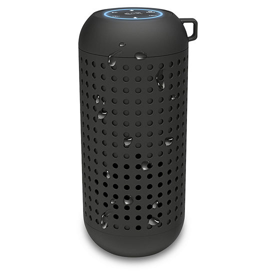 iLive Platinum ISBWV418B Voice-Activated Waterproof Wireless Rubber Bluetooth Smart Speaker