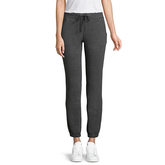St. John's Bay Active Clinched Bottom Fleece Sweatpant - Tall