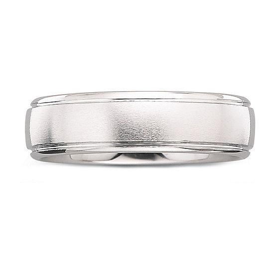 Mens 6mm Tungsten Carbide Ring