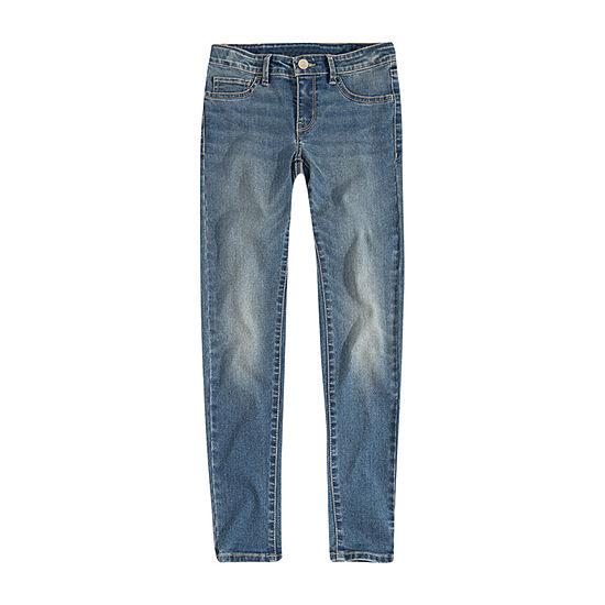 Levi's Girls 710 Skinny Fit Jean Preschool / Big Kid