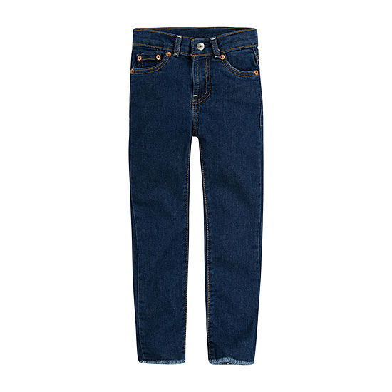 Levi's Big Girls High Rise Straight Leg Jean