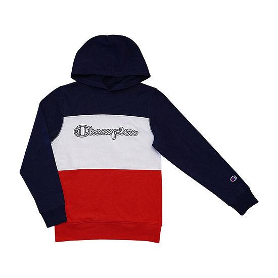 Champion Colorblock Boys Hoodie-Toddler / Preschool