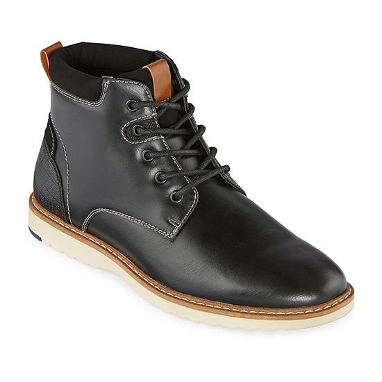 Arizona Mens Laughton Flat Heel Lace Up Boots