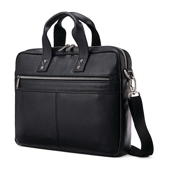 Samsonite Classic Leather Slim Briefcase