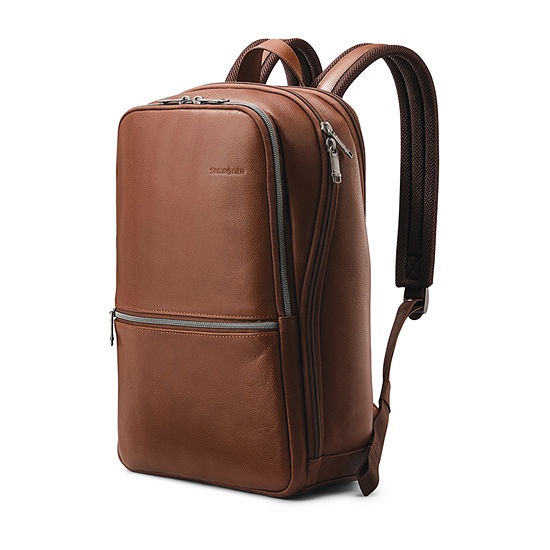 Samsonite Classic Business Leather Slim Backpack