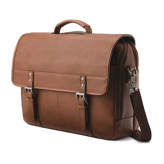 Samsonite Classic Leather Messenger Bag