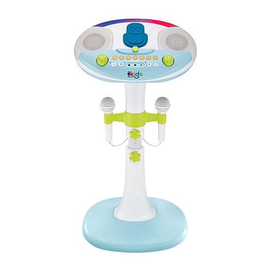 Singing Machine Kids Pedestal Karaoke System with Stand