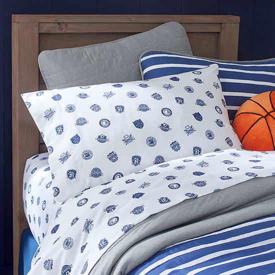 Frank And Lulu Jersey City Embellished Reversible Pillow Sham