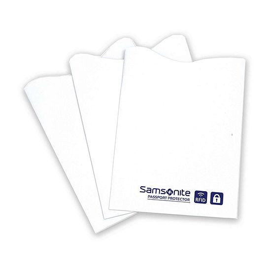 Samsonite 3 Pack RFID Credit Card Sleeves