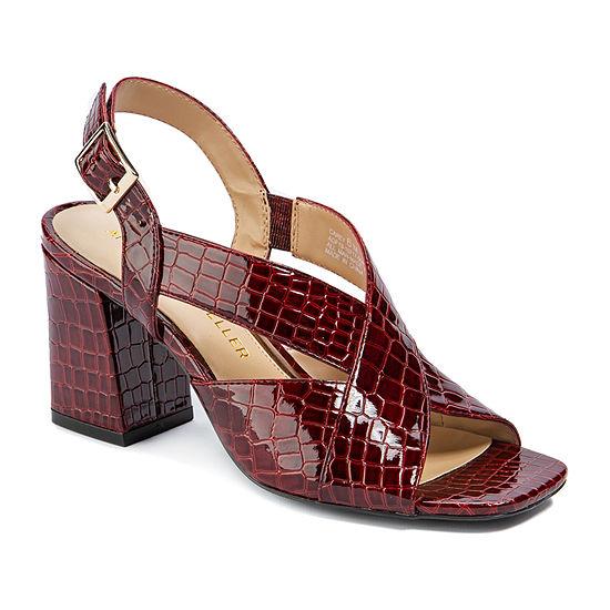 Andrew Geller Womens Carey Heeled Sandals