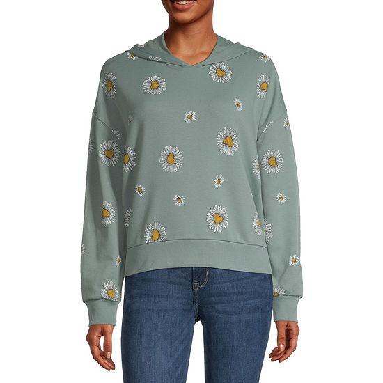 Miken Juniors Womens Hooded Neck Long Sleeve Sweatshirt