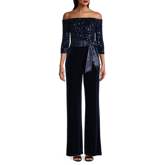 Premier Amour Off The Shoulder Jumpsuit