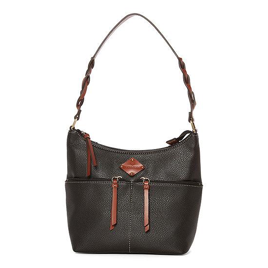 St. John's Bay Westbrook Top Zip Shoulder Bag