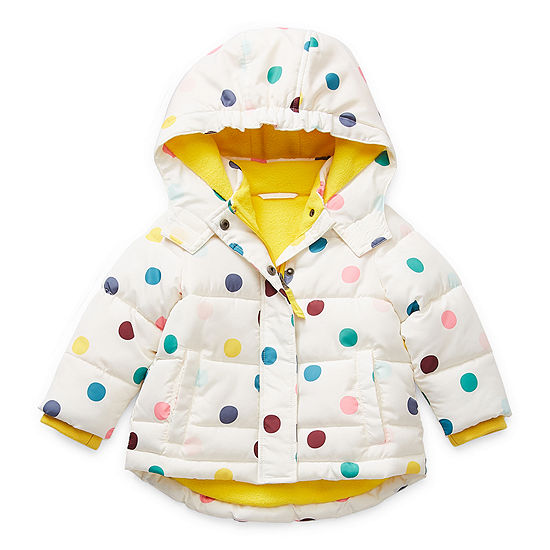 Okie Dokie Baby Girls Midweight Puffer Jacket