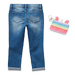 Blue Spice Little Girls Skinny Skinny Fit Jean