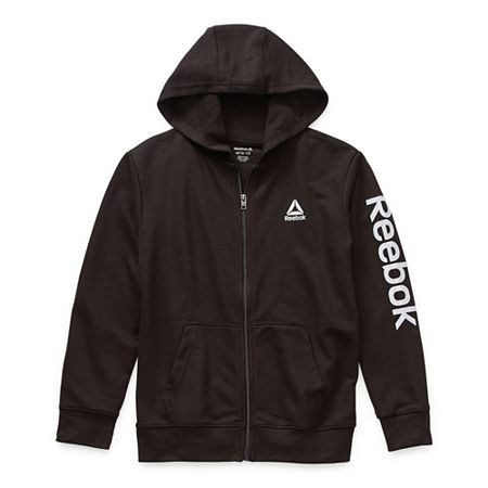 Reebok Big Boys Hoodie, Medium (10-12) , Black