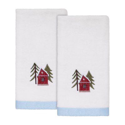 Avanti Christmas Village 2-pc. Fingertip Towel