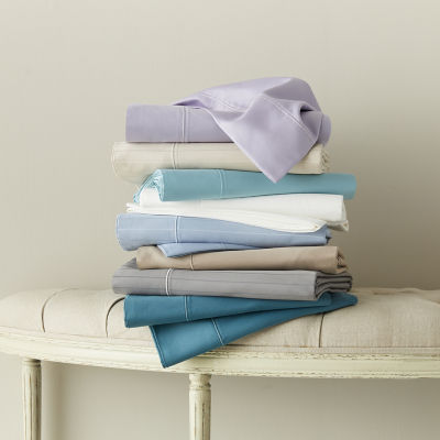 Liz Claiborne Luxury 600tc Sateen Wrinkle Free Sheet Set