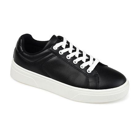 Journee Collection Womens Leeon Slip-On Shoe, 7 1/2 Medium, Black