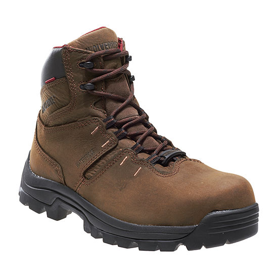 Wolverine Mens Bonaventure Flat Heel Lace Up Boots