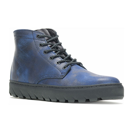 Wolverine Mens Mid Sneaker Lace Up Flat Heel Boots