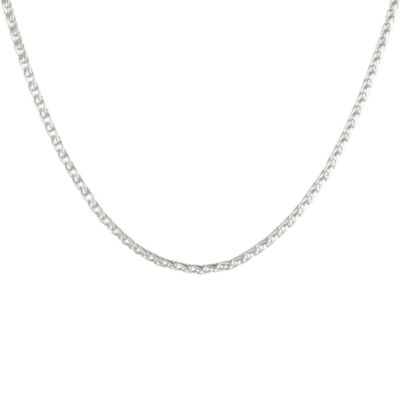 "Mens Stainless Steel 22"" 3mm Wheat Chain"