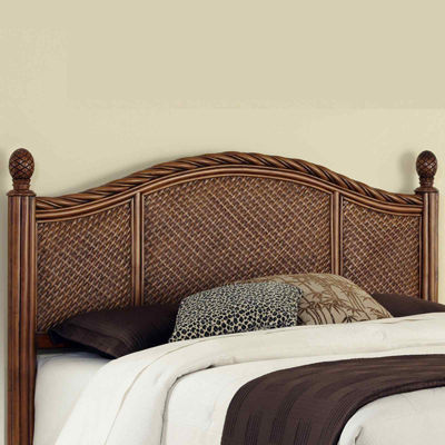 Lucia Wicker Headboard