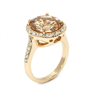Sparkle Allure Yellow Solitaire Ring