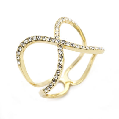 Sparkle Allure Yellow Cocktail Ring